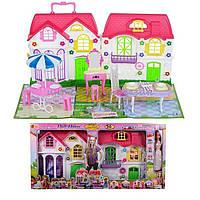 Игрушечный домик для кукол 3161 с куклой