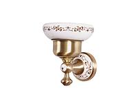 Мыльница KUGU Medusa 707A (латунь, бронза, керамика)(Бесплатная доставка Новой почтой)