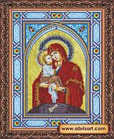 Набор для вышивания бисером икона Богородица Почаевская AB-059