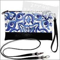 Женская сумочка клатч -Фреска