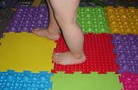 Ортопедический коврик для детей (набор из 6 шт)