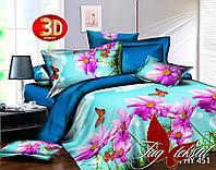 Комплект постельного белья, двуспальный, ткань поликоттон, XHY451