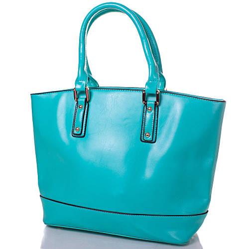 Стильная женская сумка из качественного кожезаменителя ANNA&LI (АННА И ЛИ) TUP14339-4 (зеленая)