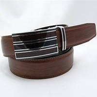 Ремень кожаный мужской Alon коричневый (D91804)