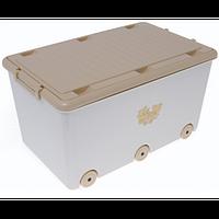 Ящик для детских игрушек Tega Miss MS-007 cappuccino pearl(арт.17204)