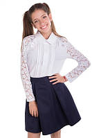 1463 - Школьная блуза для девочек Регина, Tashkan