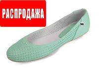 Балетки из натуральной кожи  MIDA  23422 mida.in.ua