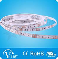 RGB Лента светодиодная  14,4W SMD5050 (60 LED/м) Outdoor IP64 Premium
