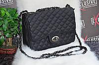 """Красивая сумка в стиле """"Шанель"""" (матовая эко-кожа)."""
