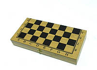Шахматы+Шашки+Нарды 3 в 1 (бамбук)