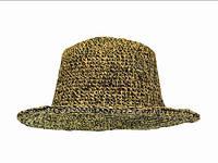 Шляпа пляжная конопляная