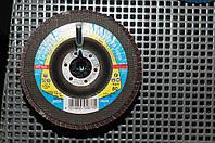 SMT 624 р120 Klingspor круг шлифовальный лепестковый для нержавейки из циркония