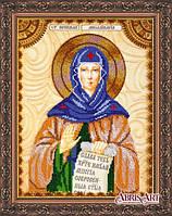 Набор для вышивания бисером Икона Святая Аполлинария (Полина) АА-125