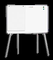 Мобильная доска для маркера ABC Office 100 x 150 см, алюминиевая рама (Киев)