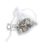 Подарочный мешочек 0221 белый органза. Упаковка