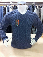 Мужской свитер ромбики-мысик