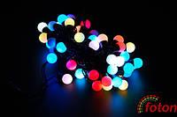 Светодиодная гирлянда шарики новогодние LED Ball Garland RGB