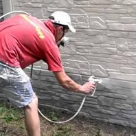 Фарбування бетонної огорожі