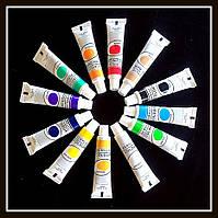 Набор красок акриловых 12 цветов