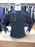 Мужской свитер косички