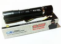 Контактный электрошокер фонарь Барракуда BL-1168, 50000 кВ, пробой 5 см