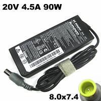 Зарядка для ноутбука Lenovo, класс энергоэффективности B, 90W, 20V, 4.5A, 8*7,4мм штекер