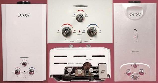 Теплообменник для газовой колонки дион теплообменник огц