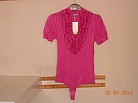 Яркая летняя блуза-боди