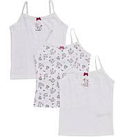 Детские майки для девочки Набор 3 шт F&F (Tesco, Англия)