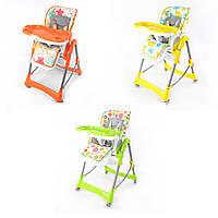 Стульчик для кормления   яркие стульчики для детей