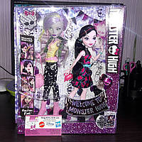 Набор Дракулаура и Моаника Draculaura & Moanica D'kay Welcome to Monster High Monstrous Rivals