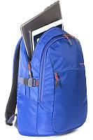 """Вместительный мужской рюкзак с отделением для лэптопа 15,6"""" Tucano Livello Up Blue BKLIVU-B голубой"""