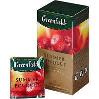Чай Greenfield Summer Bouquet травяной со вкусом малины пакетированный 25 шт 903544