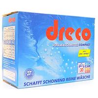 Стиральный порошок универсальный концентрированный  Dreco Vollwaschmittel Super 2025 гр.