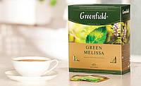 Чай Greenfield Green Melissa зеленый пакетированный 100 шт 949709