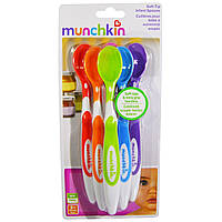Мягкие ложки для детей, Munchkin, от 3 месяцев, 6 шт