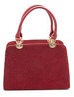 Красная женская сумка  Б/Н art. 205