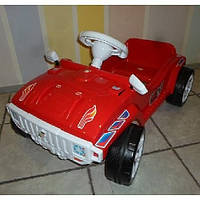 Машинка для катания педальная красная Орион 792