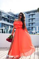 Яркие женские летние платья в пол