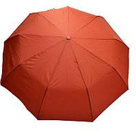 Складной зонт вишневого цвета