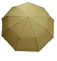 Однотонный полуавтоматичный зонт