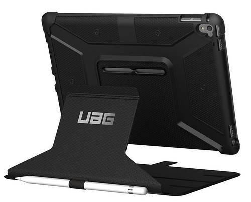 """Классный чехол для планшета 9,7"""" Urban Armor Gear iPad ProScout (Black) IPDPRO9.7-BLK черный"""