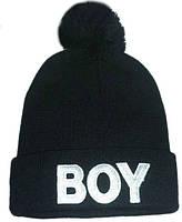 Шапка Boy London черная