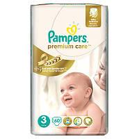 Подгузники Pampers Premium care 3 (5-9 кг), 60 шт.