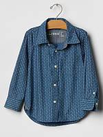 Детская нарядная рубашка GAP для мальчика, 4 года