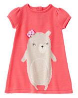 Трикотажное платье-сарафан для девочки Gymboree (США)