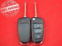 Выкидной ключ AUDI 8E0837220Q 3 кнопки 433Mhz id48CAN
