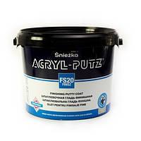 Sniezka Acryl-Putz шпаклівка акрилова фінішна, 17кг