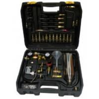 Комплект для очистки форсунок и топливных систем бензиновых и дизельных ДВС HS-A0023 HESHITOOLS