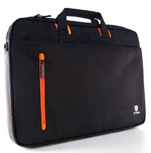 """Классная сумка для ноутбука до 13,3"""" на каждый день DTBG D8338 Black/Orange D8338BL-13.3 оранж/черный"""